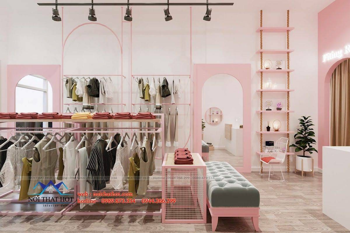 thiết kế shop thời trang gaam 3