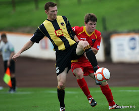 Photo: Berwick Rangers Football Club v Dunfermline Athletic Football Club - Pre Season Friendly Alex Whittle in action for DunfermlineAt Shielfield Park, Berwick24/07/2012Craig Brown | StockPix.eu