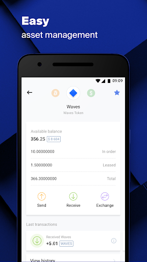 Waves.Exchange 2.10.4 screenshots 3