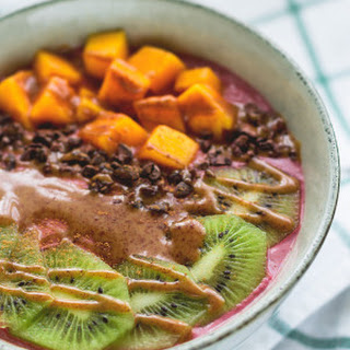 Raw Blackberry Orange Buckwheat Porridge Recipe