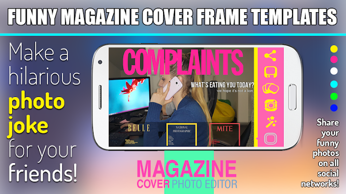 Magazine Cover Photo Editor - screenshot