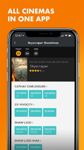 Popcorn: Movie Showtimes, Tickets, Trailers & News 5.10.29 screenshots 3