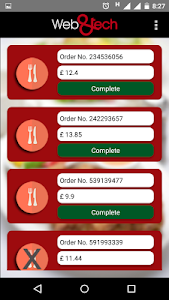 Restaurant Order Management screenshot 3