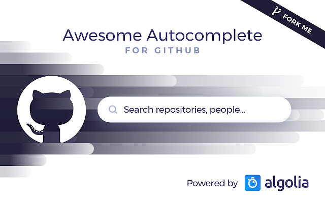 Awesome Autocomplete for GitHub