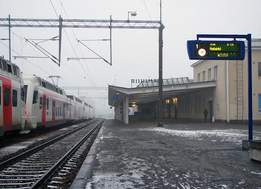 IMG44220. Riihimäen rautatieasema
