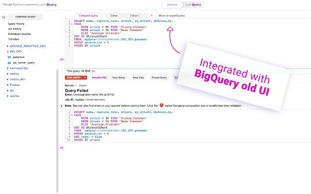 superQuery - BigQuery AI optimization engine