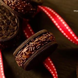 Brigadeiro Cookies (Chocolate Fudge Sandwich Cookies).