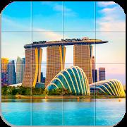 Tile Puzzle Cities