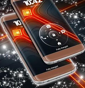 Zámek obrazovky Neon - náhled