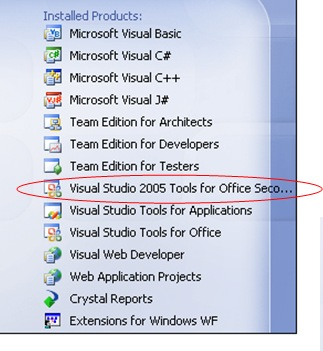 Technology blog vikas goyal vsto extend ms office using visual studio tools for office - Visual studio tools for office ...
