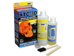 XTC-3D High Performance 3D Print Coating - 6 oz