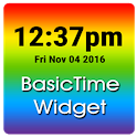 Basic Time Clock Widget icon
