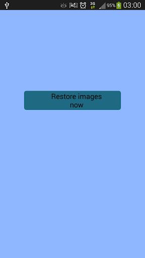削除された画像は復元します Prank