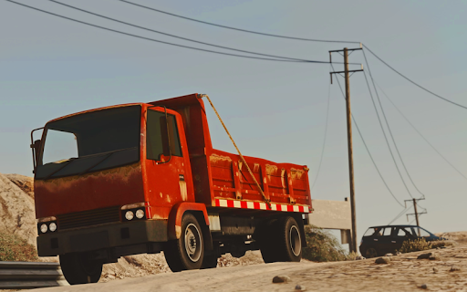 Télécharger gratuit Hill Cargo Truck Simulator Transport Free Drive APK MOD 1