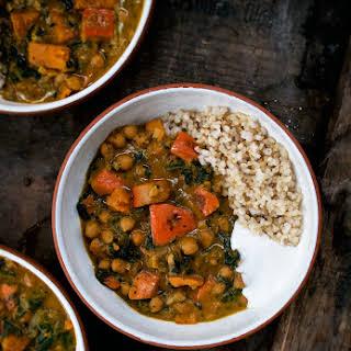 Pumpkin Chickpea Stew.