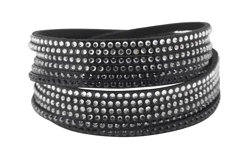 Photo: Twisted Glamour Bracelet by SWAROVSKI CRYSTALLIZED™ - Shop online: http://bit.ly/Lkp780