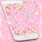 Theme Rose Gold Diamond  Icon
