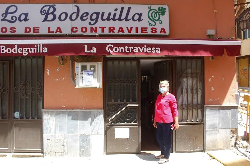 La Bodeguilla La Contraviesa, ubicada en la calle Trajano.
