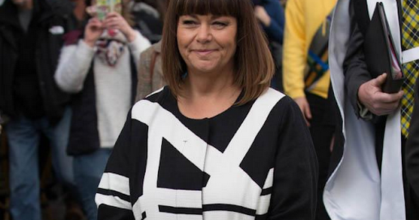 Dawn French is 'properly happy' after weight loss