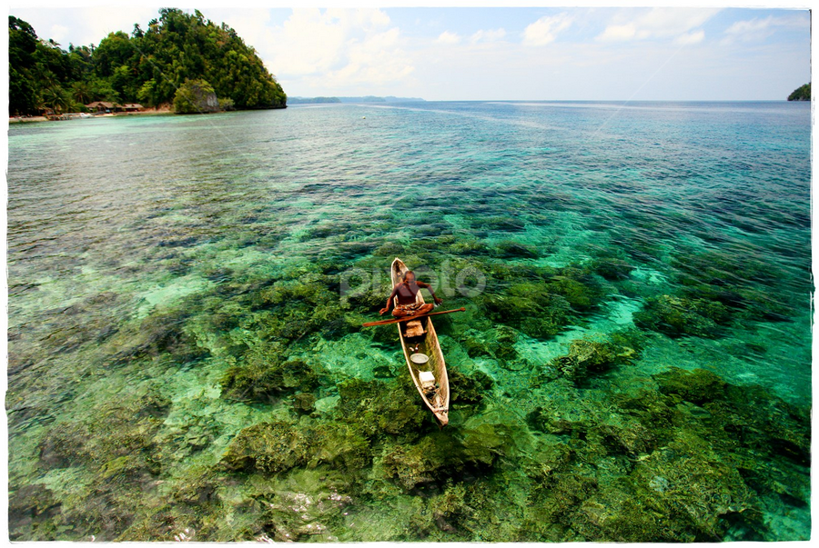 Togian Island by Syamsul A. Nugroho - Landscapes Travel ( waterscape, sea, beach )