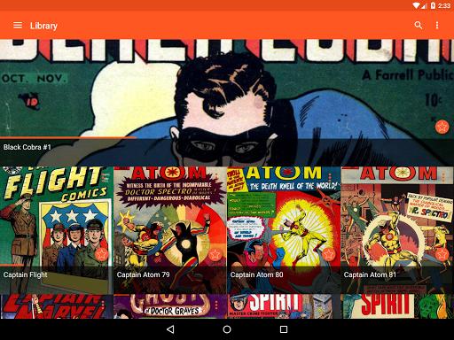 Astonishing Comic Reader Screenshot