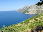 Dalmatinische Küstenlinie