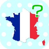 France Regions & Departments Map Quiz
