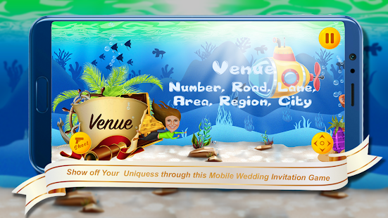 Download Underwater Theme - Wedding Invitation Game For PC Windows and Mac apk screenshot 7