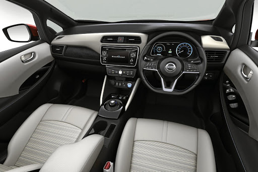 The interior is conservative to make potential owners more familiar with it.   Picture: NISSAN