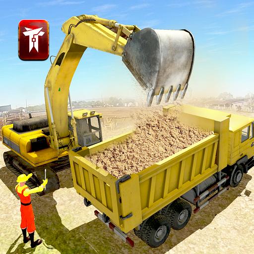Uphill City Construction Crane