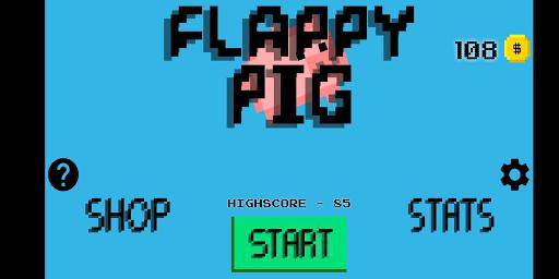 Flappy Pig 1.2 screenshots 1