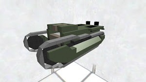 大星帝製 八九式中戦車 「知波改」(モデル)