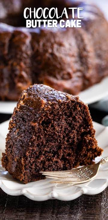 Chocolate Butter Cake - Crazy for Crust