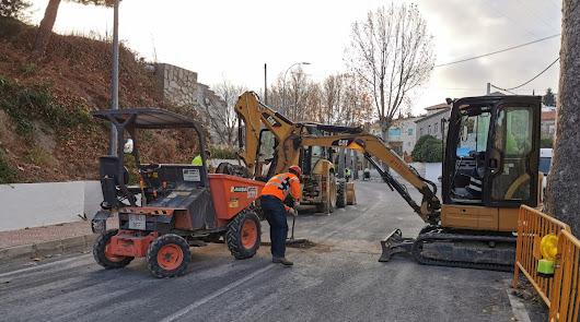 Serón inicia la canalización de gas en las principales calles del pueblo