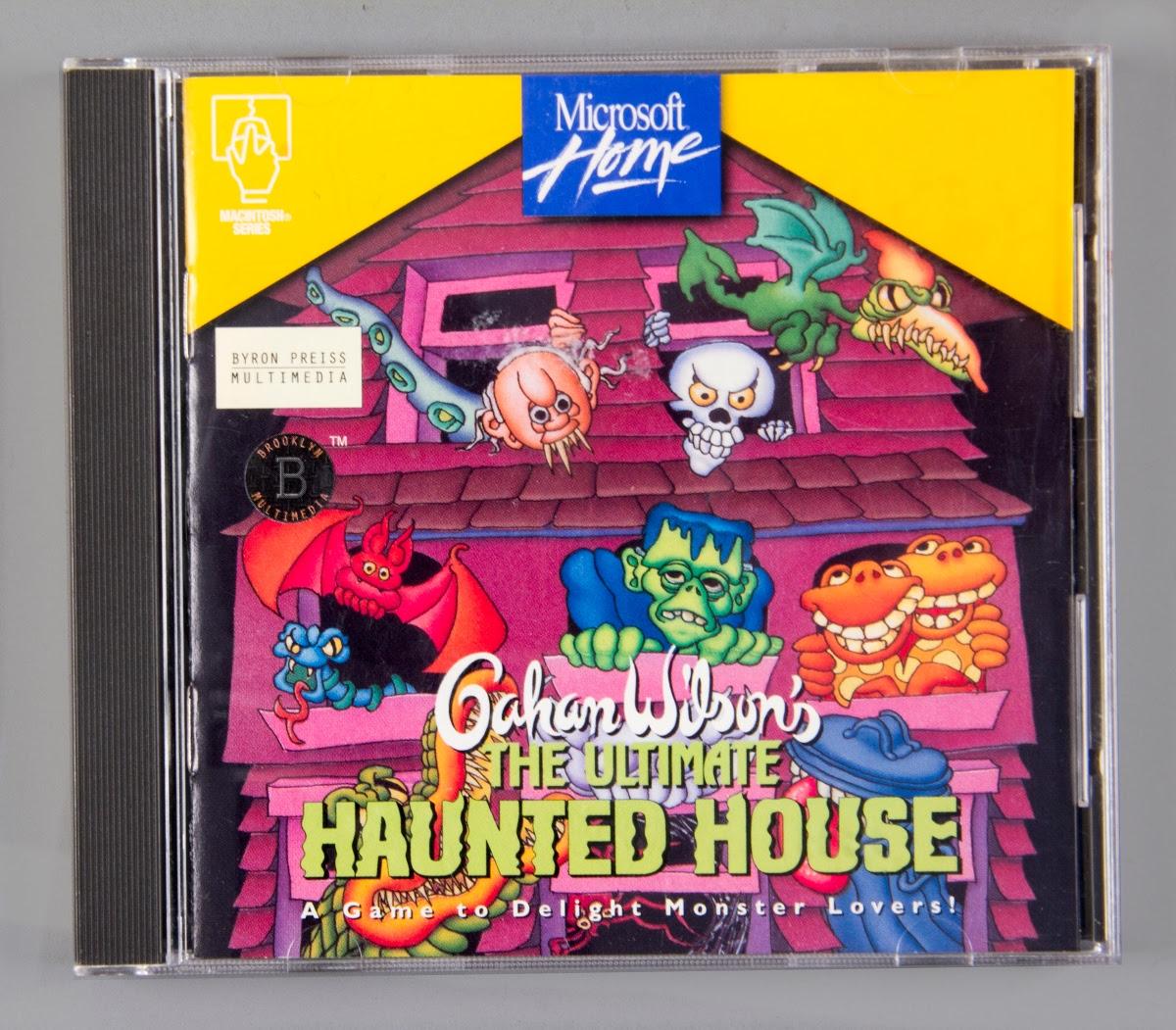 Video game:Macintosh Gahan Wilson's The Ultimate Haunted