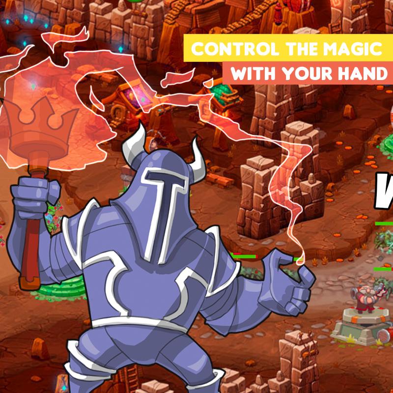 Epic Elemental TD - Battle Tower Defense- screenshot