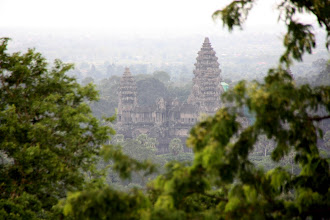Photo: Year 2 Day 44 -  Angkor Wat Viewed from the Top of Phnom Bakheng