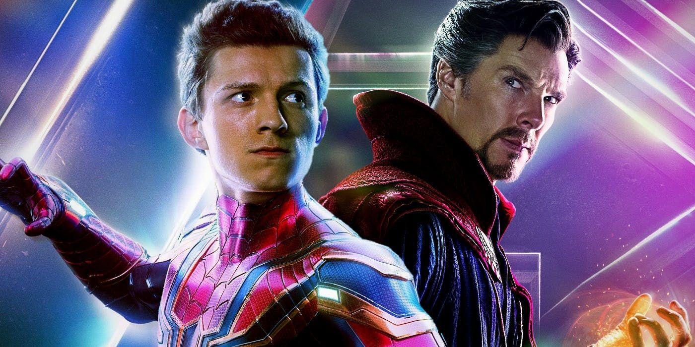 Spider-man 3 Tom Holland and Doctor Strange team up