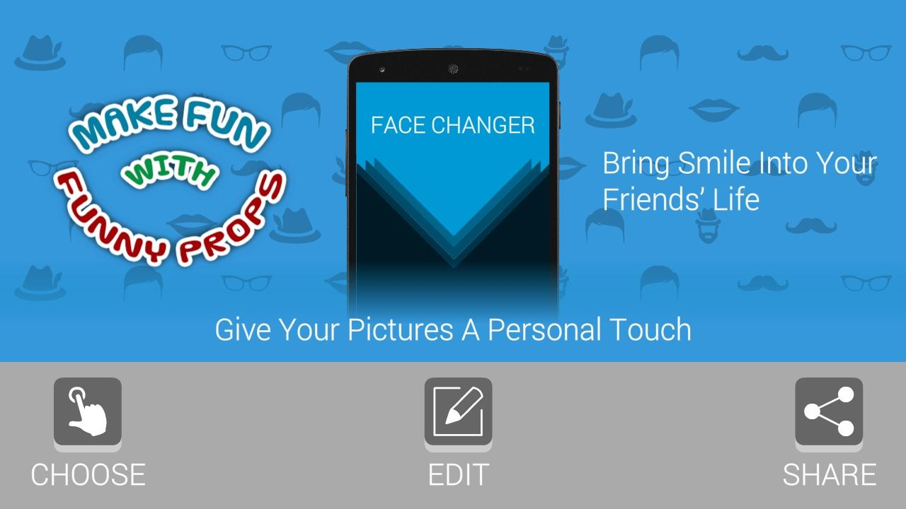 FACE CHANGER - EDITOR- screenshot