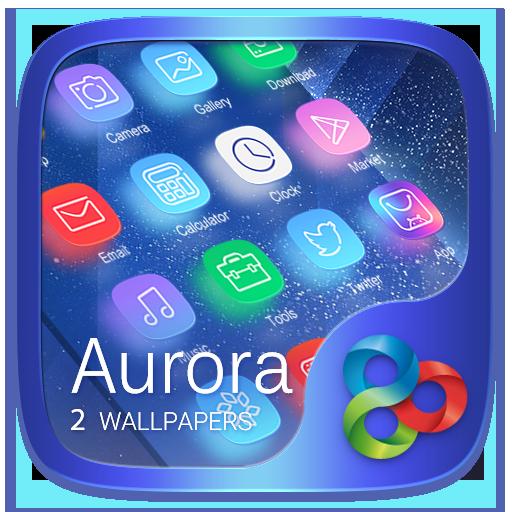 Aurora GO Launcher Theme