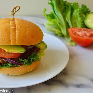Vegan Black Bean & Sweet Potato Burgers