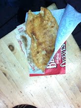 Photo: My first beavertail. Could not resist taking a first bite before taking a photo. Cinnamon topping, btw.