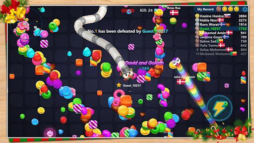 Code Triche Serpent aux bonbons APK MOD screenshots 2