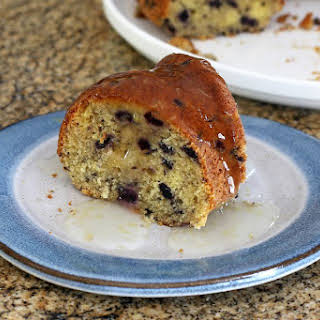 Easy Blueberry Cake.