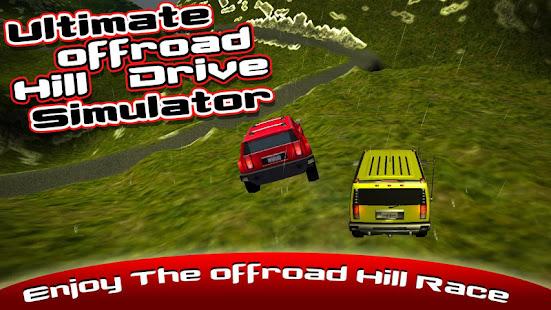 Ultimate Offroad Hill Drive Simulator 3D screenshot