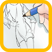 anime characters draw tutorial