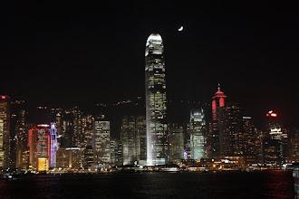 Photo: Day 195 -  Lights on HK Island (Hong Kong)