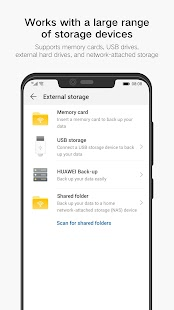 Huawei Backup Screenshot