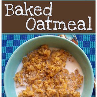 Freezer-Friendly Baked Oatmeal
