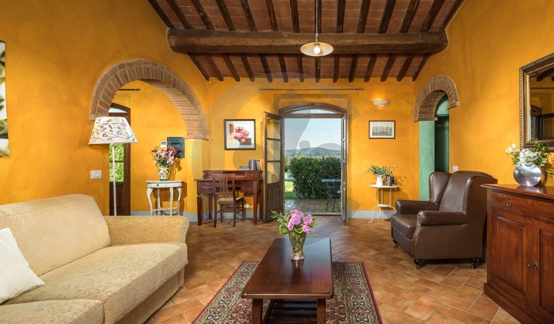 Appartement avec piscine Montalcino